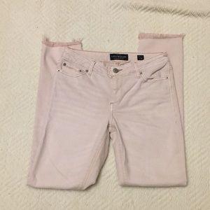 Lucky Brand Lolita Skinny blush pink jeans
